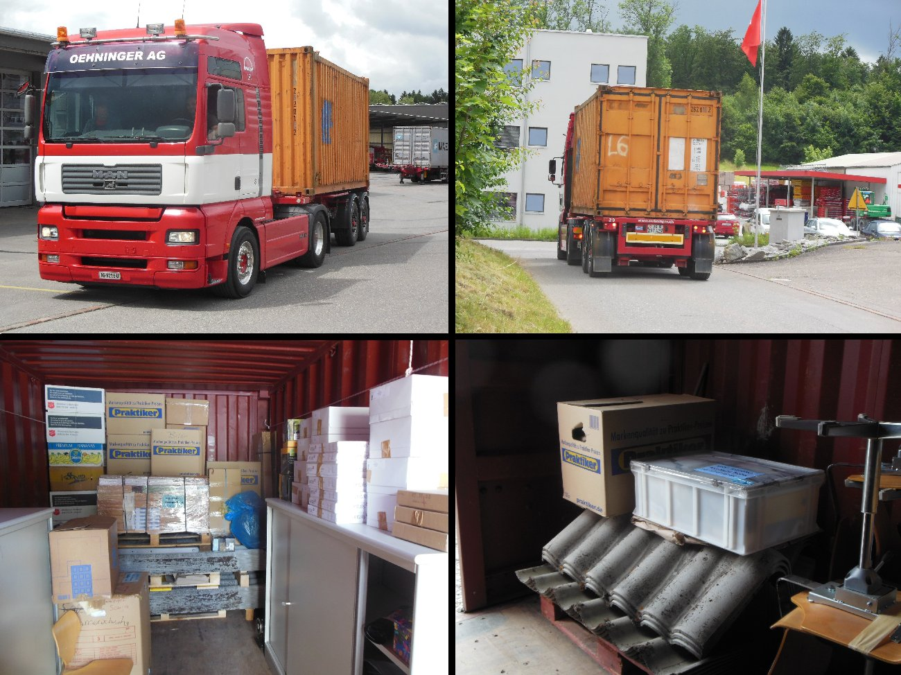 Containerbesuch