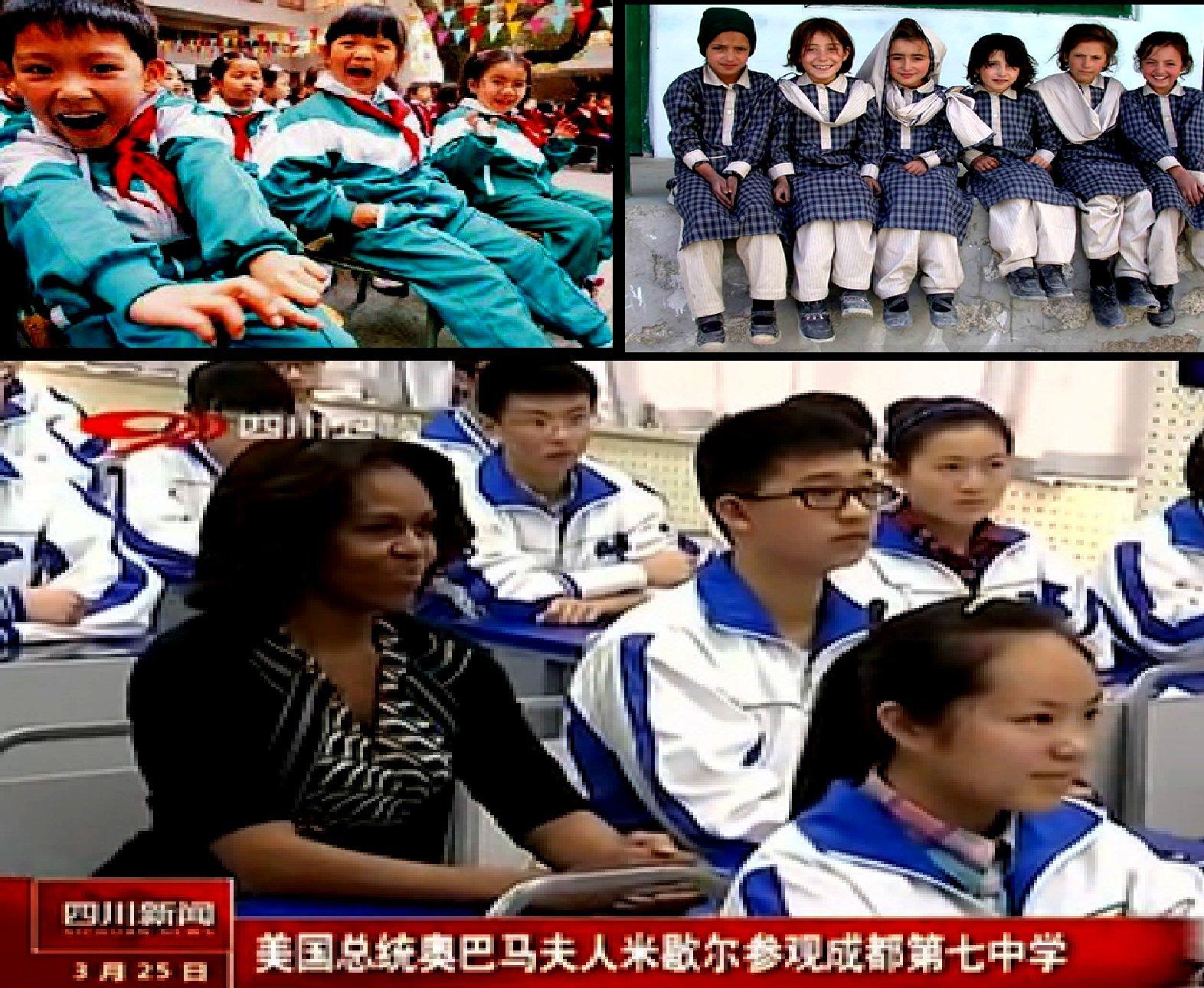 Schuluniformen_China