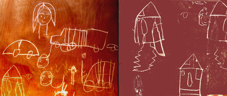 Sie-zeichnen-auf-Türen-ind-Wände